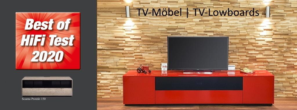 TV-Möbel Scaena Protekt 150  ist Best of HiFi