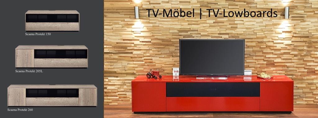 Scaena Protekt: TV-Möbel schon ab 799,- €